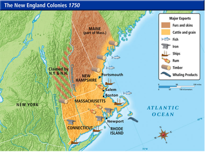 What Natural Resources Did New York Colony Have